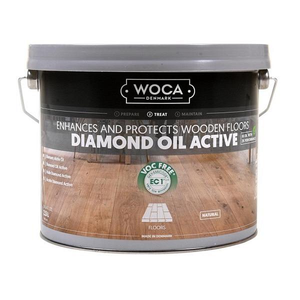 WOCA Diamatöl Aktiv 2.5L Neu!