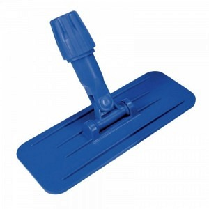 Edge cleaner with rod holder