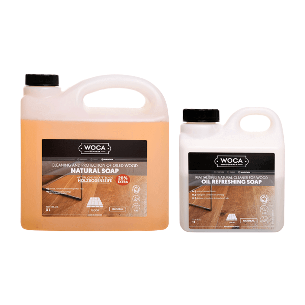 WOCA Natural Soap & 1L Oil Refresher
