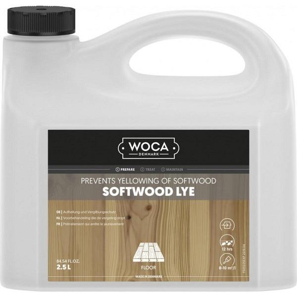 WOCA Softwood Lye 2.5 Liter