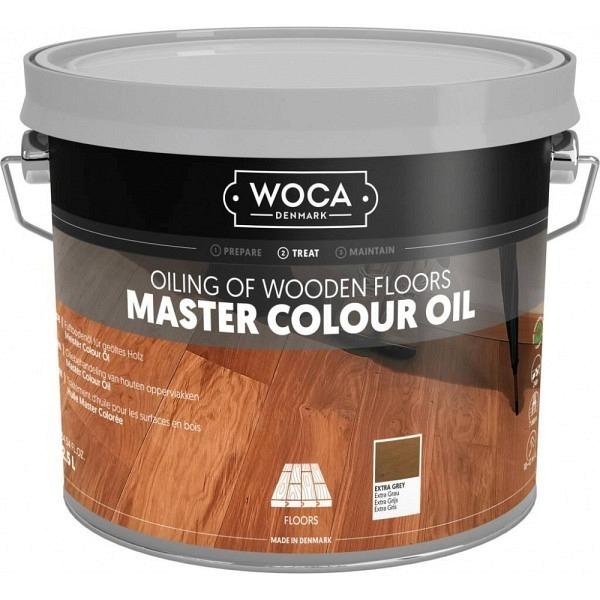 WOCA Colour Öl 314 Extra - Grau