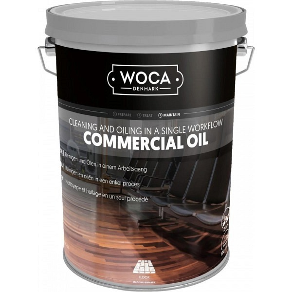 WOCA Commercialöl Natur 5.0 Liter