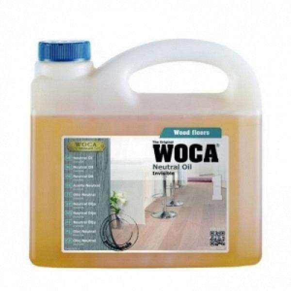 WOCA Neutral Öl Invisible 2.5 Liter / WOCA Neutral ÖL Care 1.0 Liter