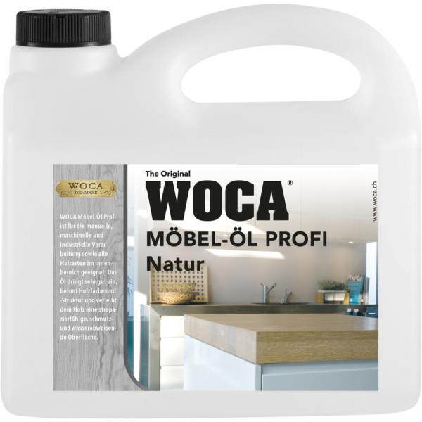WOCA Möbelöl Profi Natur 2.5L