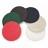 Maschinenpad für Einscheibenmaschinen 300mm - hellbraun, Ölen & Nachölen / brun clair pour huilage